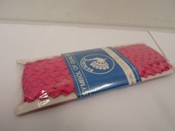 1 roll of Magenta dark Pink Rick Rack lace, minimum 27 metres, Ric Rac Lace, Braid, Trimmming, Ric Rac
